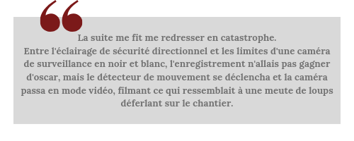 La morsure du serpent (Amber Farrell #1) - Citation.png