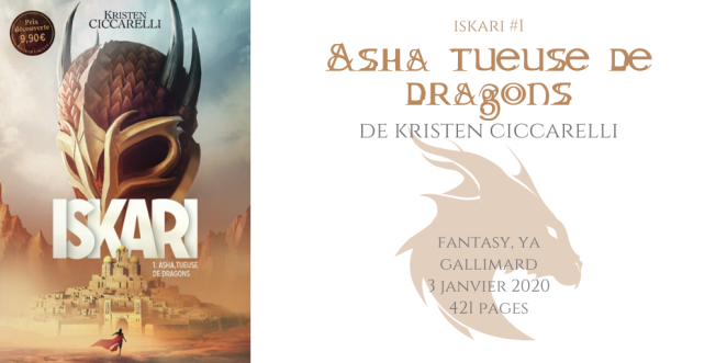 Asha tueuse de dragons (Iskari #1)