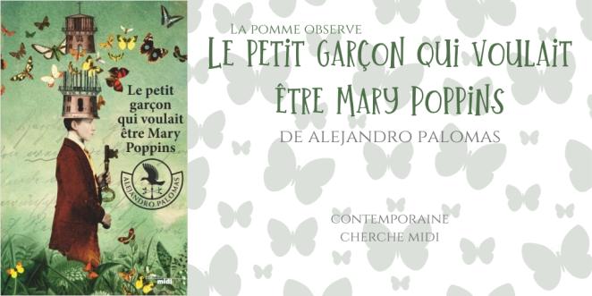 La Pomme observe - Le petit garçon qui voulait être Mary Poppins
