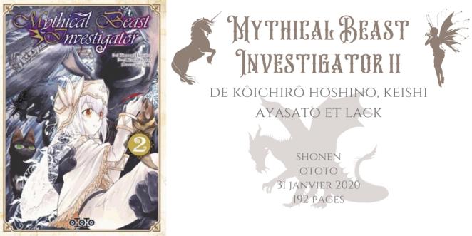 Mythical beast investigator #2