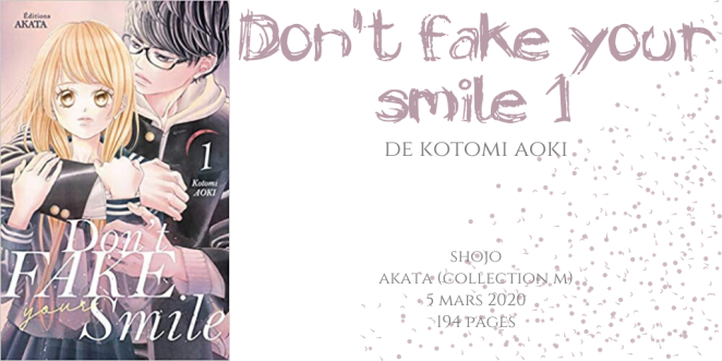Don't fake your smile #1