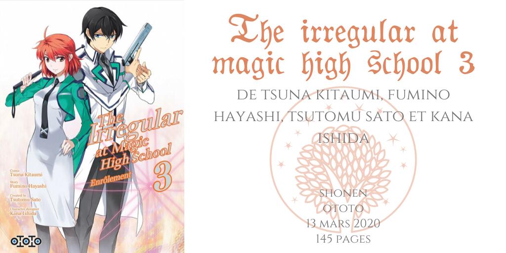 The irregular at magic high school #3