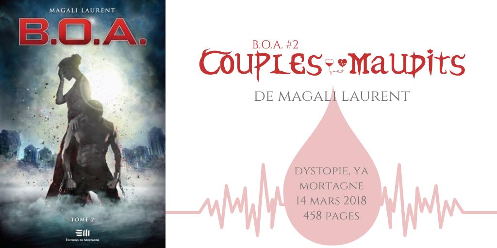 Couples maudits (B.O.A. #2)