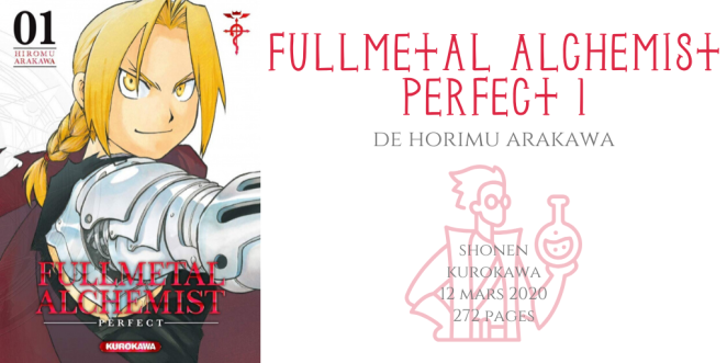Fullmetal alchemist perfect #1