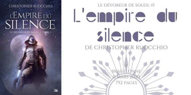 L'empire du silence (Le Dévoreur de soleil #1)