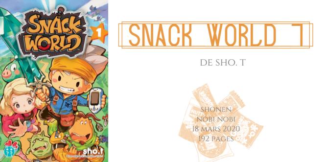Snack world #1