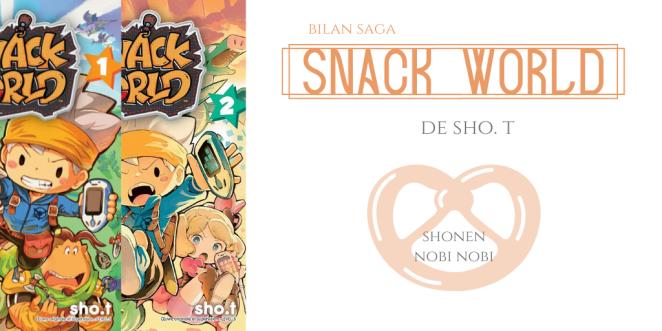 Snack world - Bilan saga