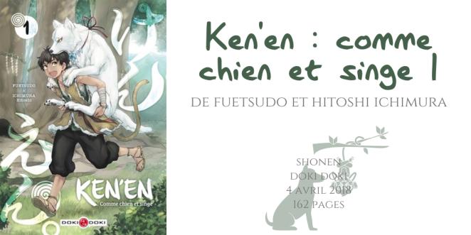 Ken'en _ Comme chien et singe #1