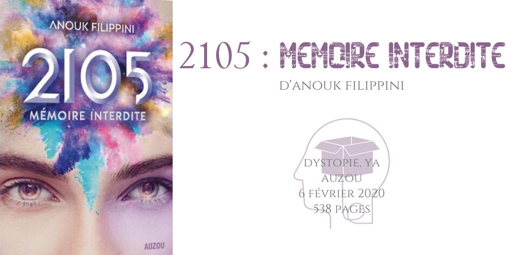 2105 _ Mémoire interdite