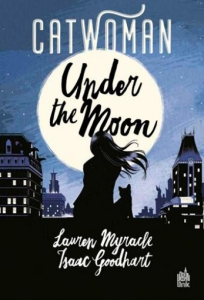 Catwoman under the moon