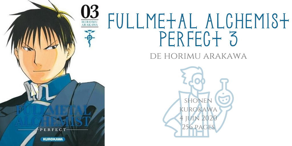 Fullmetal alchemist perfect #3