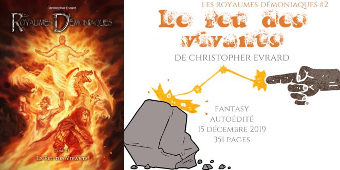 Le feu des vivants (Les royaumes démoniaques #2)