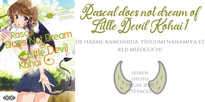 Rascal does not dream of little devil kohai #1