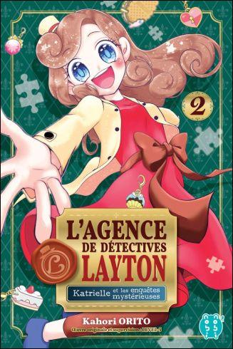 Agence de détectives Layton Katrielle et les enquêtes mystérieuses T1