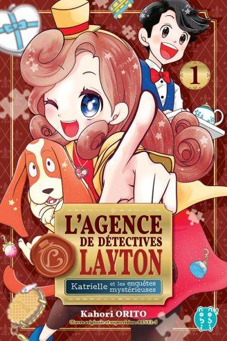Agence de détectives Layton Katrielle et les enquêtes mystérieuses T2