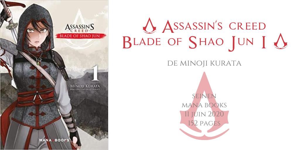 Assassin's creed - Blade of Shao Jun #1