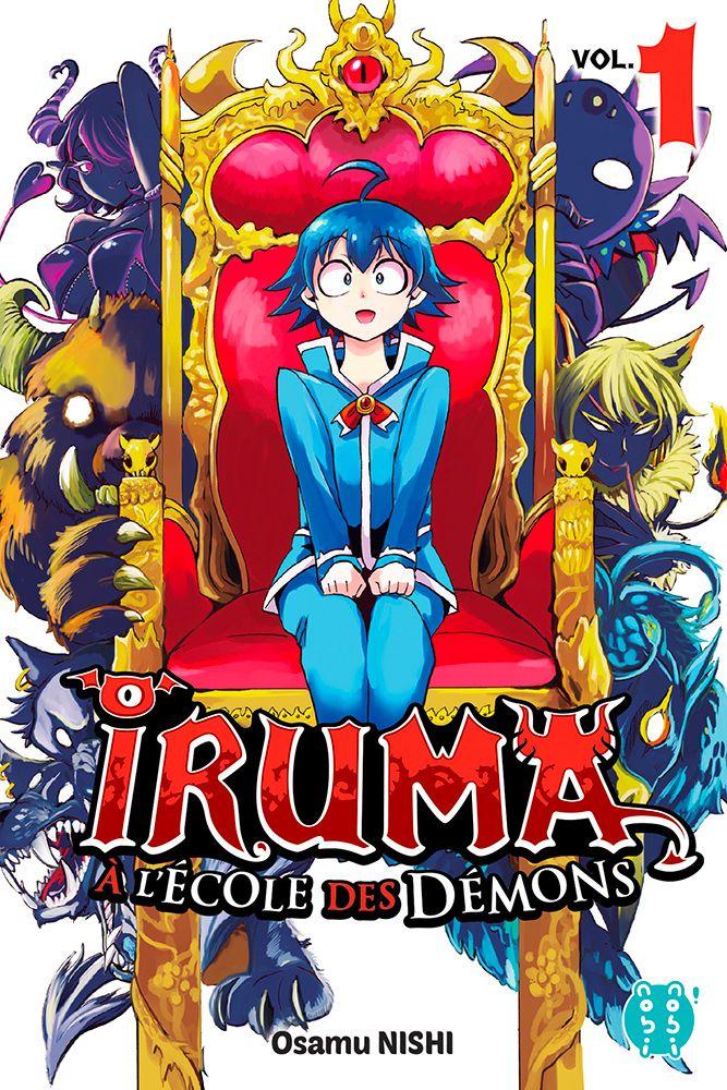 Iruma à l'école des démons T1