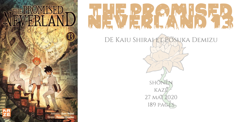 The promised neverland #13